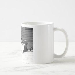 Dog Washes Boy Coffee Mug