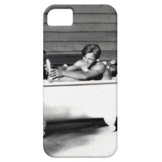 Dog Washes Boy iPhone SE/5/5s Case