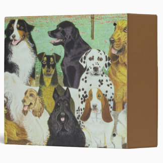 Dog Watch 3 Ring Binder