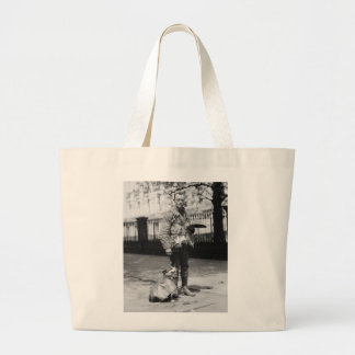 Dog Wearing a Coat 1920s Bags