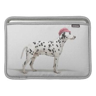 Dog wearing a hat MacBook air sleeve