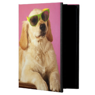 Dog wearing sunglasses 2 case for iPad air