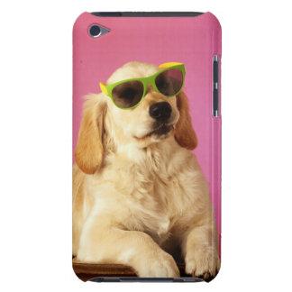 Dog wearing sunglasses 2 iPod Case-Mate case
