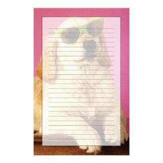 Dog wearing sunglasses 2 stationery
