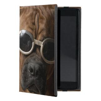 Dog wearing sunglasses 3 cases for iPad mini