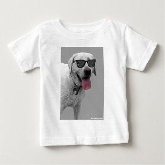 Dog wearing sunglasses baby T-Shirt