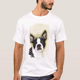 Dog wearing tiara T-Shirt