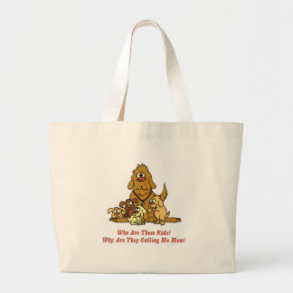 Dog - Who Are These Kids Canvas Bags