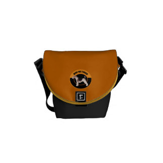 dog wire fox terrier courier bag