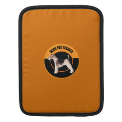 iPad Sleeve with Wire Fox Terrier Phone Cases design