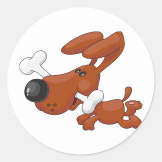 Dog With A Bone Stickers