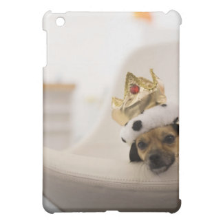 Dog with a crown iPad mini cover