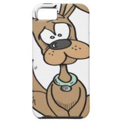 Dog with a funny confused iPhone 5 cover