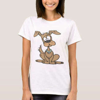 Dog with a funny confused T-Shirt