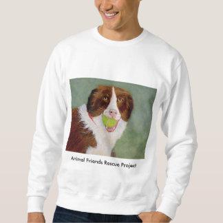 Dog With Ball Sweatshirt