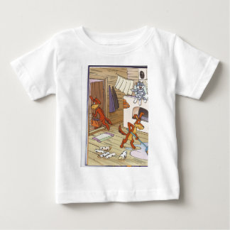 dog with cat fany pic baby T-Shirt