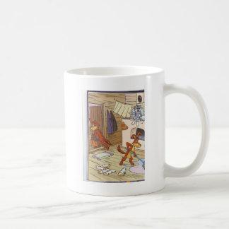 dog with cat fany pic coffee mug