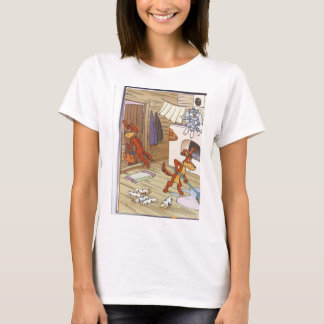 dog with cat fany pic T-Shirt