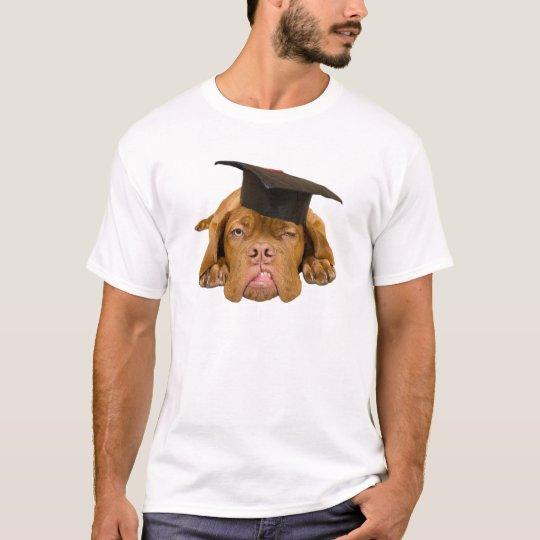Dog with graduation hat T-Shirt