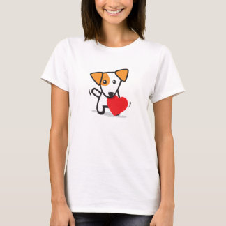 Dog with Heart T-Shirt