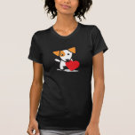 Dog with Heart Tees
