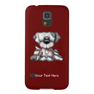 Dog With Leash (customizable) Case For Galaxy S5