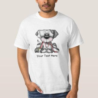 Dog With Leash (Customizable) T-Shirt