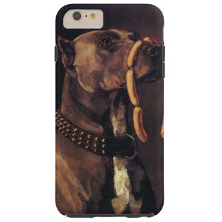 Dog with Sausages Phone Cover Tough iPhone 6 Plus Case