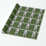dog wrapping paper, your pet on gift wrap