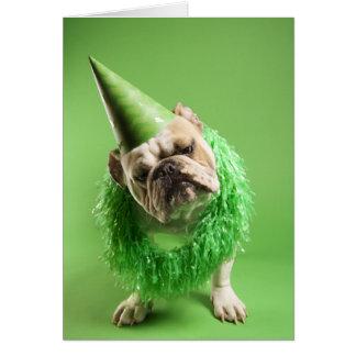 """Dog Years"" Birthday Card"