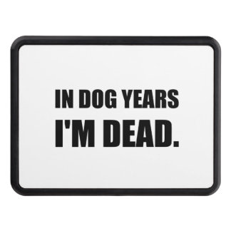 Dog Years Dead Trailer Hitch Covers