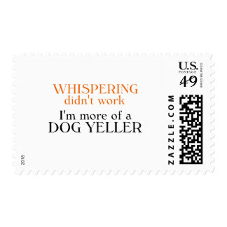 Dog Yeller T-shirts and Gifts Stamps