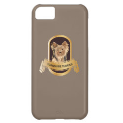 Case-Mate Barely There iPhone 5C Case with Yorkshire Terrier Phone Cases design