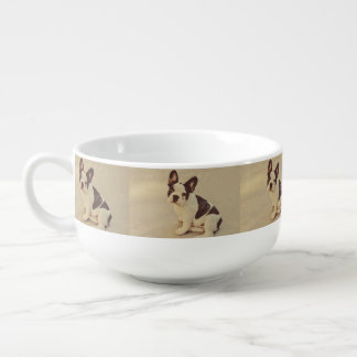 Dog Soup Bowl With Handle