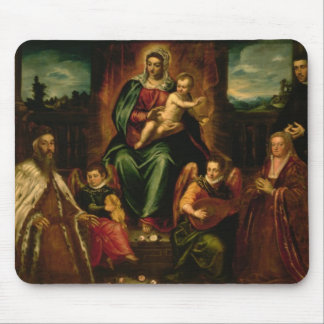Doge Alvise Mocenigo and Family Mouse Pad