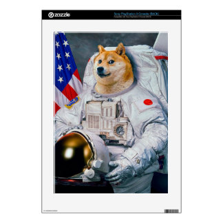 Doge astronaut-doge-shibe-doge dog-cute doge decals for PS3