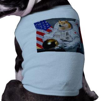 Doge astronaut-doge-shibe-doge dog-cute doge T-Shirt