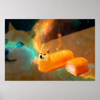 Doge bread - doge-shibe-doge dog-cute doge poster