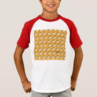 Doge cartoon - doge texture - shibe - doge T-Shirt