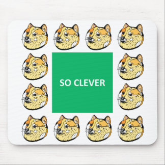 Doge Clever Mouse Pad