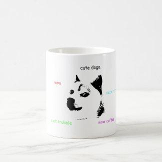 Doge Coffee Cup