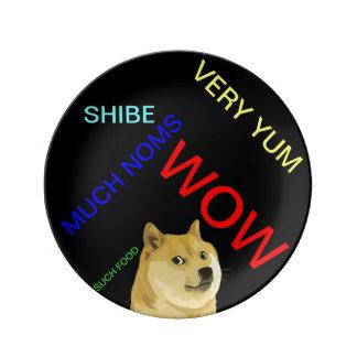 Doge Decorative Porcelain Plate