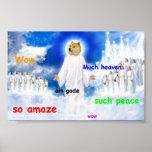 doge heaven poster