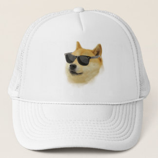 Doge In Shades Cap