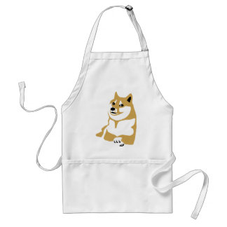 Doge - internet meme adult apron