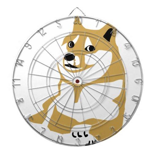 Doge - internet meme dartboard