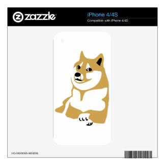 Doge - internet meme decal for the iPhone 4