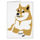Doge - internet meme greeting cards