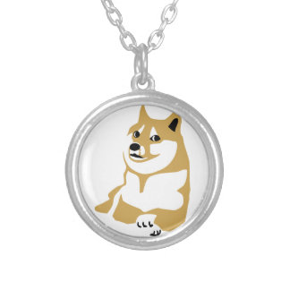 Doge - internet meme custom necklace