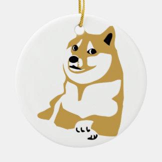 Doge - internet meme ornament